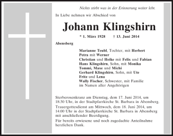 Mittelbayerische Zeitung Abensberg