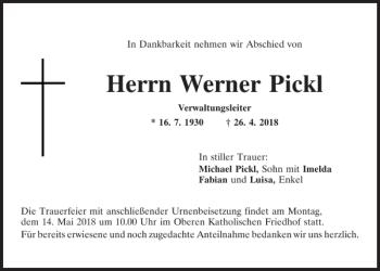 Pickl Regensburg
