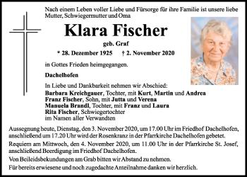 Mittelbayerische Zeitung Trauer Schwandorf